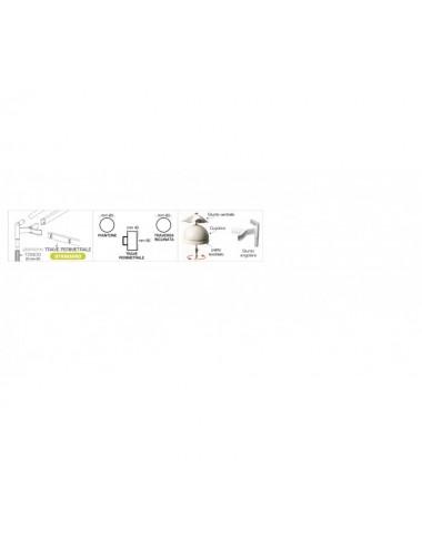 Gazebo Airone Basic struttura RETTANGOLARE