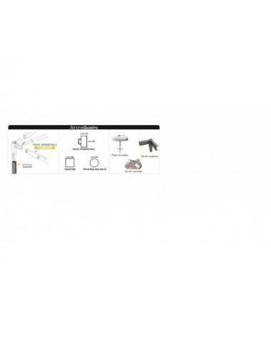 Gazebo Airone New struttura RETTANGOLARE