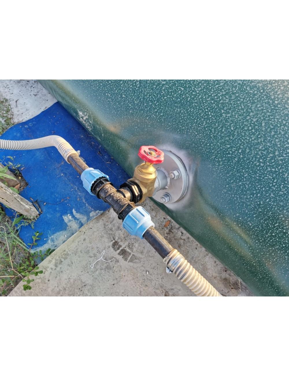 Cisterna Flessibile 1,5 mc Modello: Quadrato
