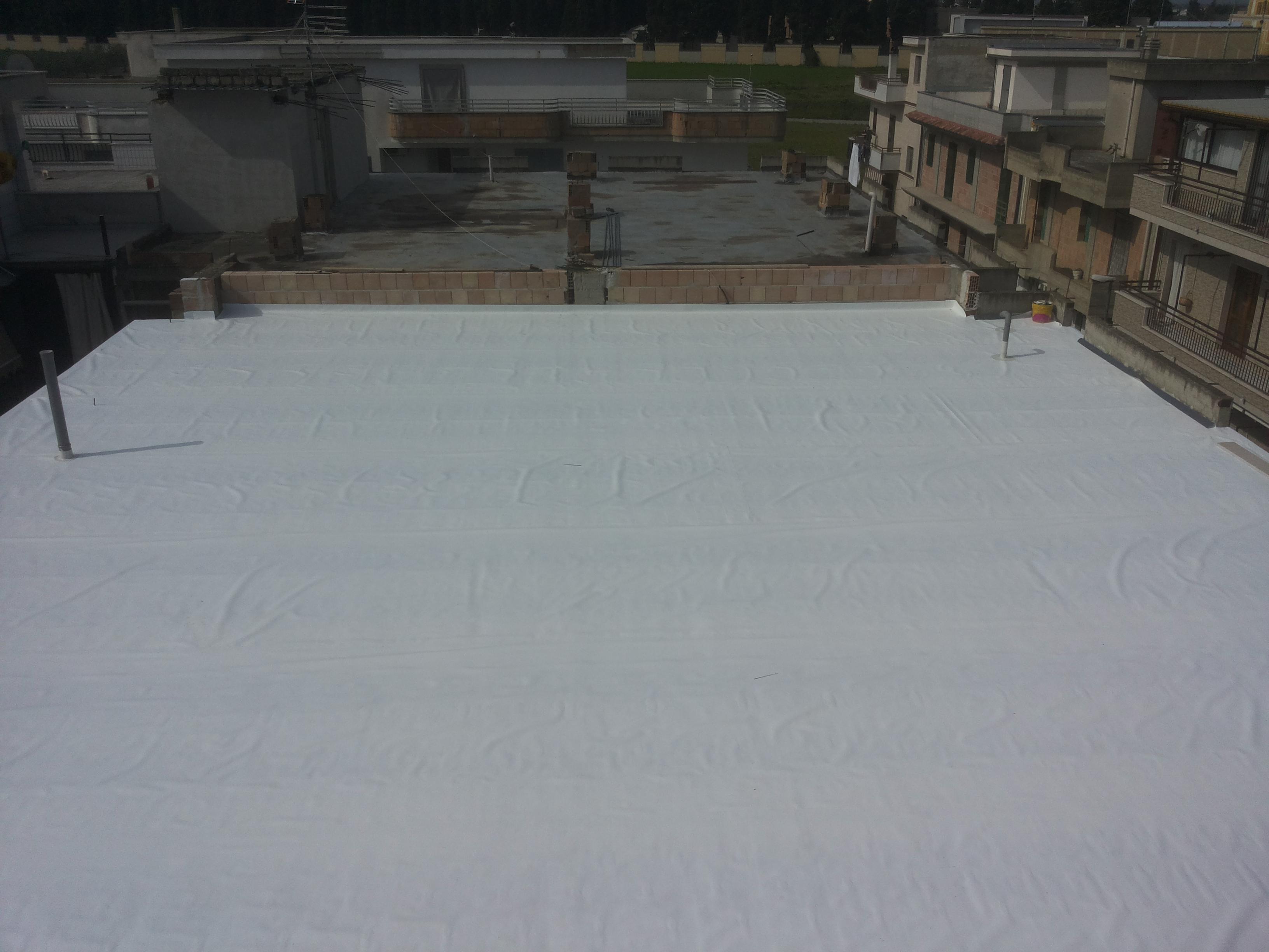 Guaine per impermeabilizzazione tetto, terrazza, lastrico solare