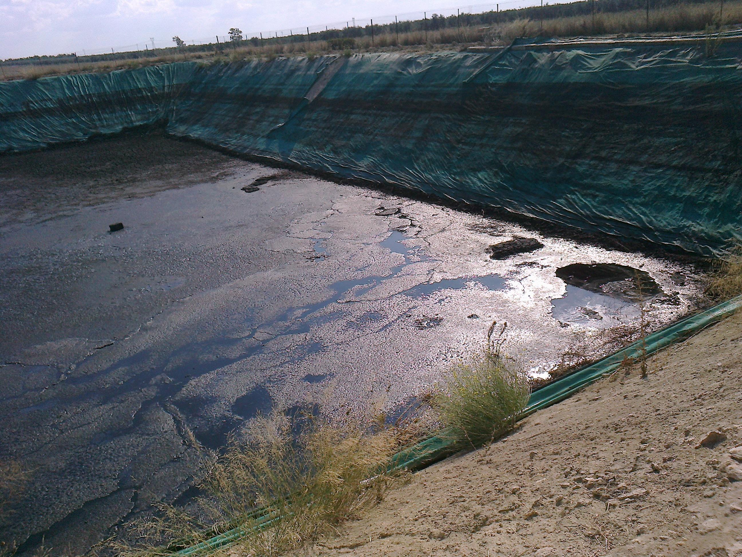 Stoccaggio acque di vegetazione